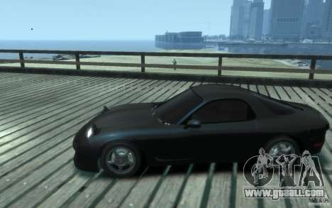 Mazda RX-7 v1 for GTA 4 left view