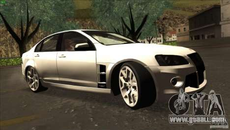 Holden HSV W427 for GTA San Andreas back view