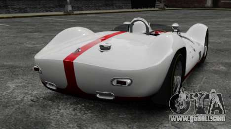 Maserati Tipo 60 Birdcage for GTA 4 back left view