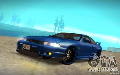 Nissan Skyline R33 GT-R V-Spec for GTA San Andreas upper view