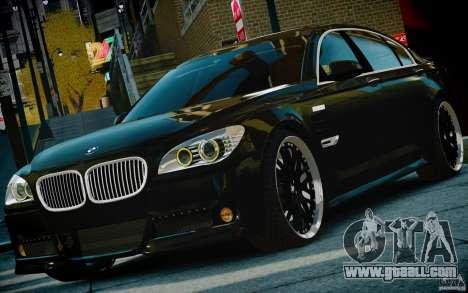 Bmw 750li Hamann for GTA 4 back view