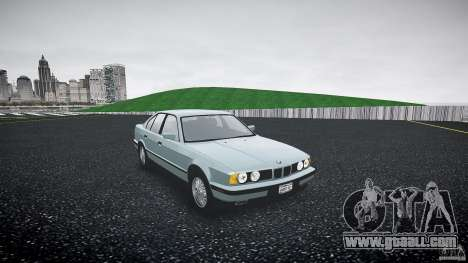 BMW 535i E34 for GTA 4 right view