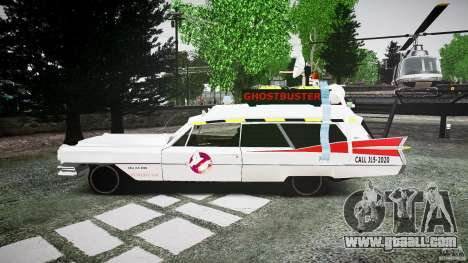 Cadillac Ghostbusters for GTA 4 left view