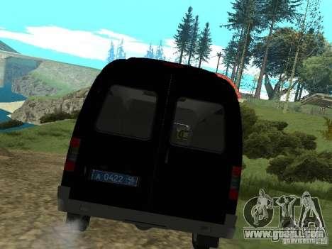 GAZ 2217 FSB for GTA San Andreas right view