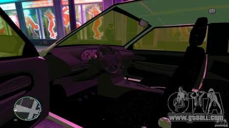 VAZ 2113 for GTA 4 back view