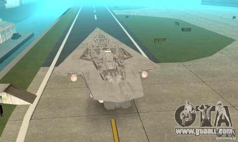 Executor Class Stardestroyer for GTA San Andreas left view