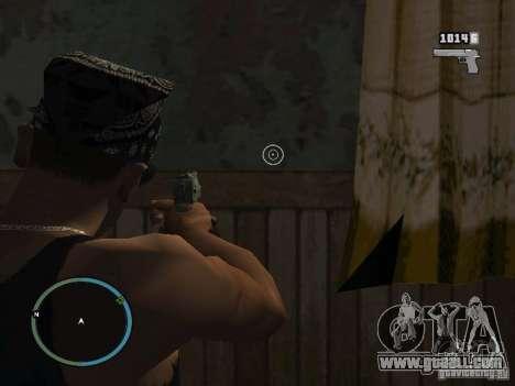 Camera of GTA IV 1.0 for GTA San Andreas second screenshot
