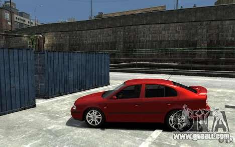 Skoda Octavia v.1.0 for GTA 4 inner view