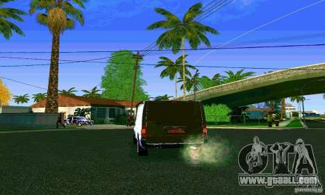 Ford Transit SWB 2011 for GTA San Andreas back left view