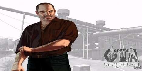 Boot screens of GTA IV v. 2.0 for GTA San Andreas eighth screenshot