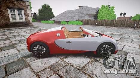 Bugatti Veyron Grand Sport [EPM] 2009 for GTA 4 left view
