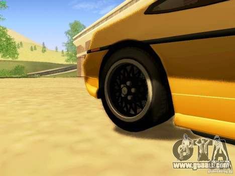 Pontiac Fiero V8 for GTA San Andreas right view
