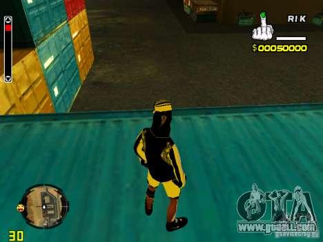 Skin bum v3 for GTA San Andreas forth screenshot