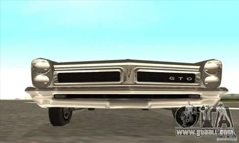 Pontiac GT-100 for GTA San Andreas left view