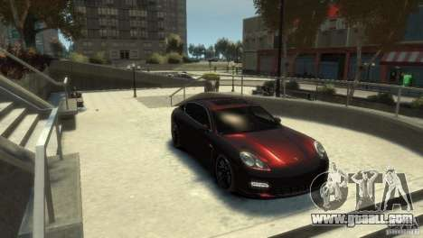PORSCHE Panamera Turbo for GTA 4
