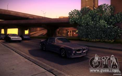 Pontiac Firebird 1970 for GTA San Andreas side view