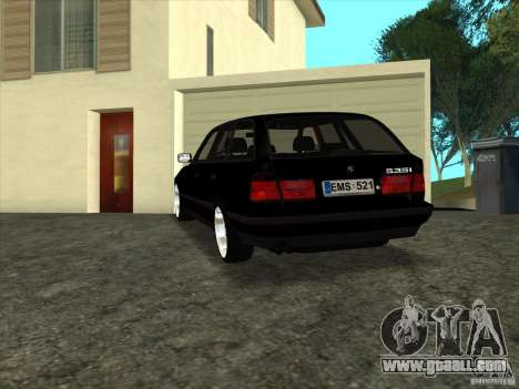 BMW E34 535i Touring for GTA San Andreas left view