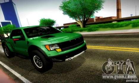 Ford F-150 SVT Raptor V1.0 for GTA San Andreas left view