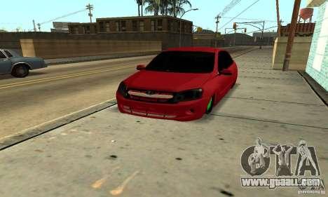Lada Granta Dag Style for GTA San Andreas back view