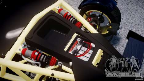 Ariel Atom 3 V8 2012 for GTA 4 back view
