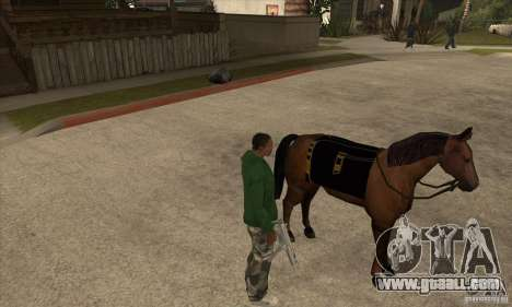 Horse for GTA San Andreas second screenshot