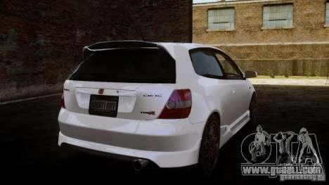 Honda Civic Type-R (EP3) for GTA 4 left view