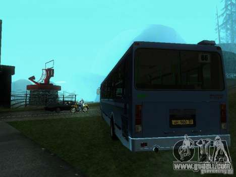 LIAZ 5256-25 for GTA San Andreas back left view