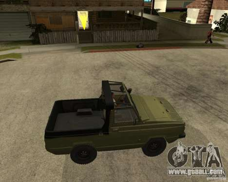 UAZ-3907 Jaguar for GTA San Andreas right view