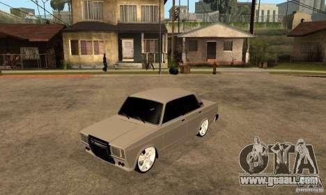 Lada VAZ 2107 LT for GTA San Andreas