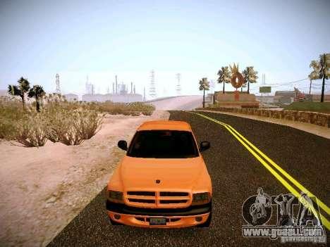 Dodge Ram 1500 Dacota for GTA San Andreas side view