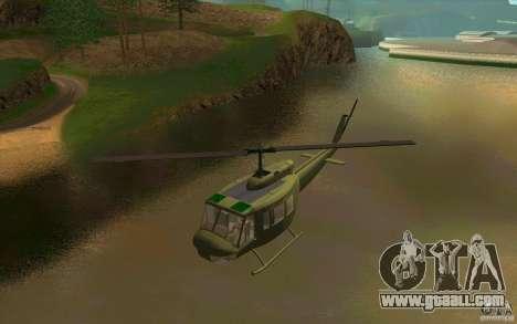 UH-1D Slick for GTA San Andreas