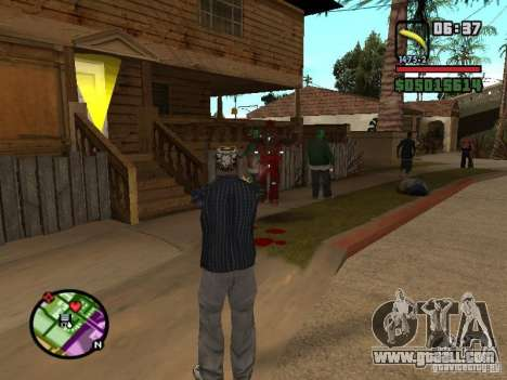 Bunana Gun for GTA San Andreas second screenshot