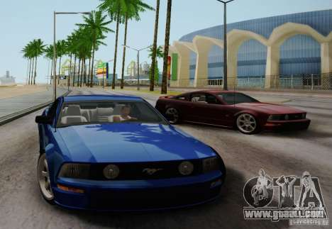 Ford Mustang Twin Turbo for GTA San Andreas right view