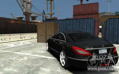 Mercedes-Benz CLS 350 for GTA 4 back left view