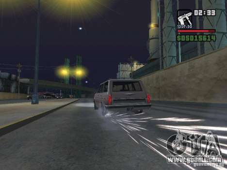 New Realistic Effects for GTA San Andreas eighth screenshot