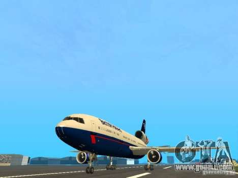 McDonell Douglas DC10 British Airways for GTA San Andreas