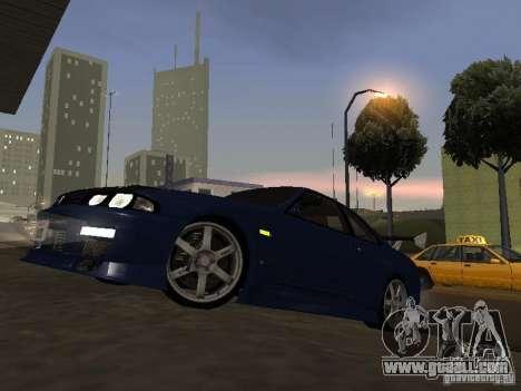 Nissan Skyline R33 SGM for GTA San Andreas left view