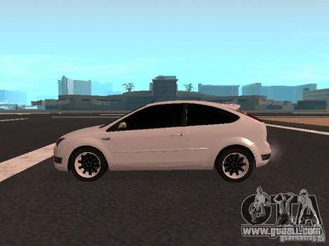Ford Focus II for GTA San Andreas left view