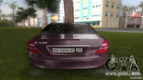 Mercedes E-class E500 for GTA Vice City right view
