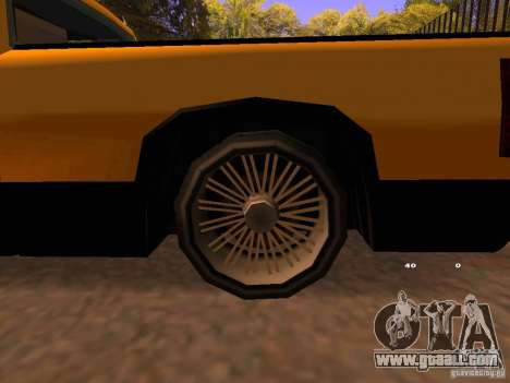 Tuned Yosemite for GTA San Andreas right view