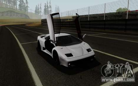 Lamborghini Diablo GTR TT Black Revel for GTA San Andreas