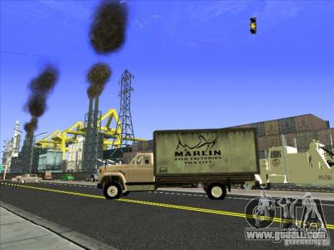 Yankee based on GMC for GTA San Andreas side view