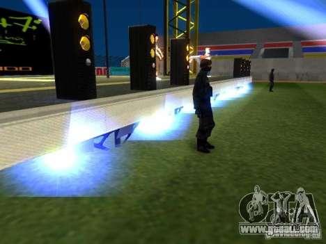 Concert of the AK-47 v 2.5 for GTA San Andreas seventh screenshot