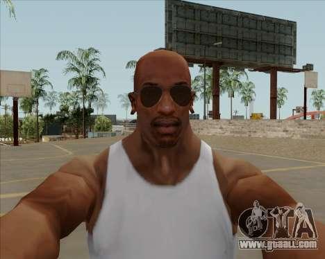 Brown glasses Aviators for GTA San Andreas third screenshot