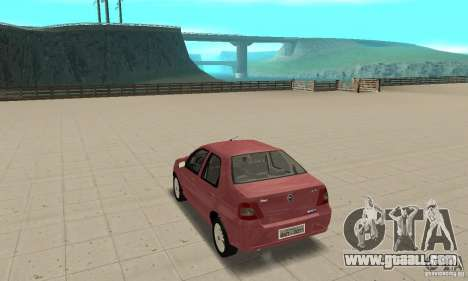 Fiat Siena HLX 1.8 Flex for GTA San Andreas left view