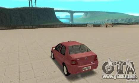 Fiat Siena HLX 1.8 Flex for GTA San Andreas left view