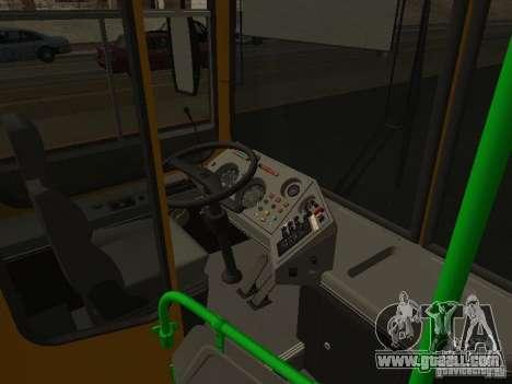 LIAZ 5256.26-01 for GTA San Andreas inner view