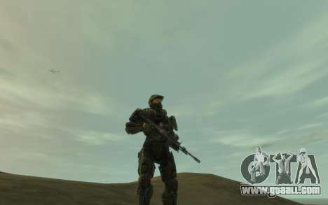 Halo 4 Master Chief for GTA 4 forth screenshot