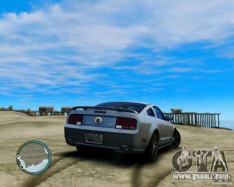 Ford Mustang GT 2005 v1.2 for GTA 4 left view