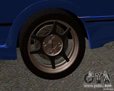 Z-s wheel pack for GTA San Andreas second screenshot